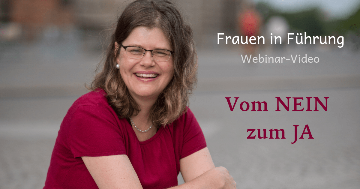 """Freebie Webinar """"Vom Nein zum Ja"""" - Video"""