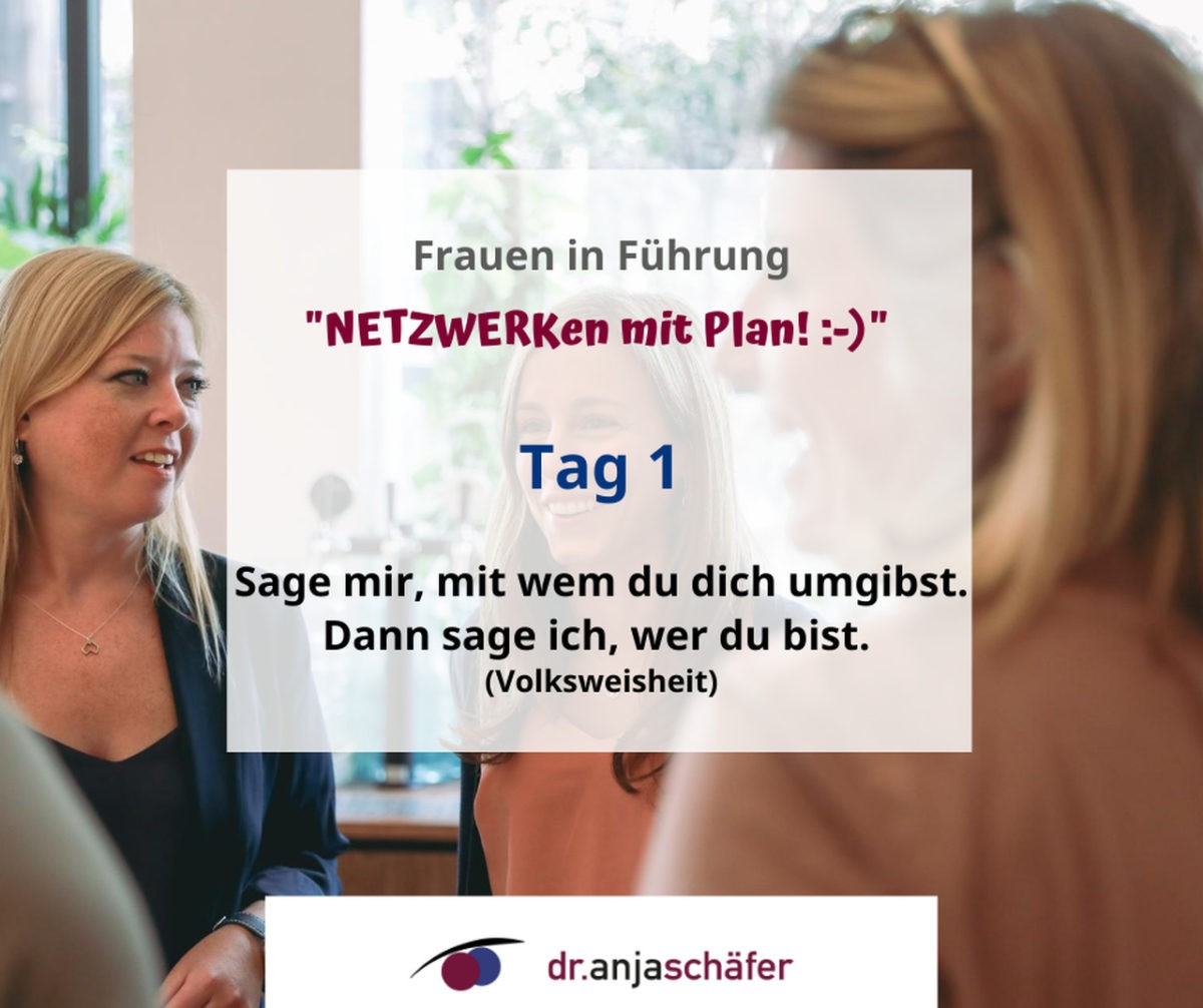 "Onlinekurs ""Erfolgsstrategie Netzwerken"" - Tag 1"