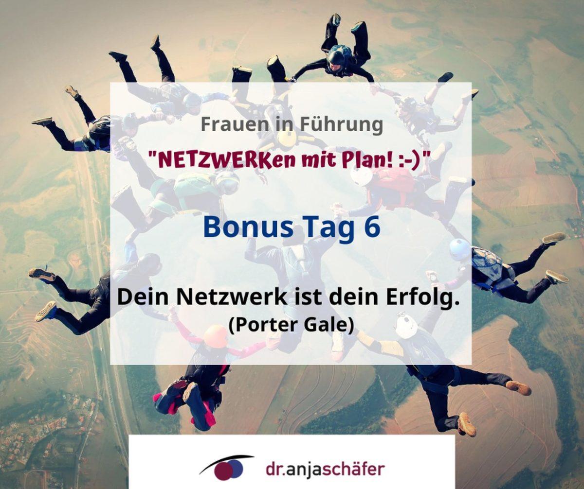 """Online-Training """"Netzwerken mit Plan"""" - Tag 6 (Aufzeichnung)"""