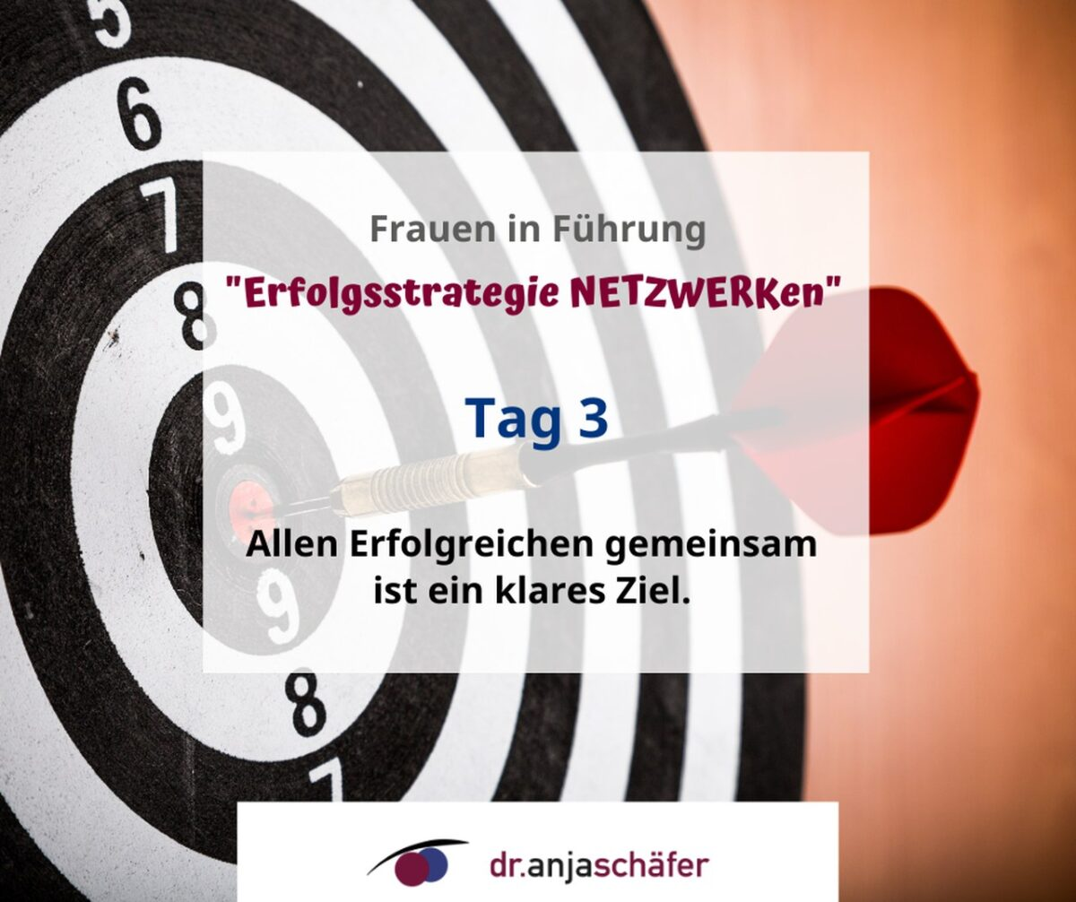 "Onlinekurs ""Erfolgsstrategie NETZWERKen"" - Tag 3"