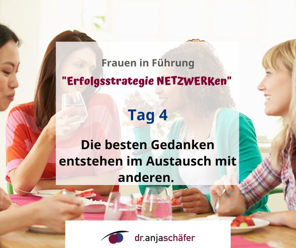"""Online-Training """"Erfolgsstrategie Netzwerken"""" 11.20 - Tag 4"""