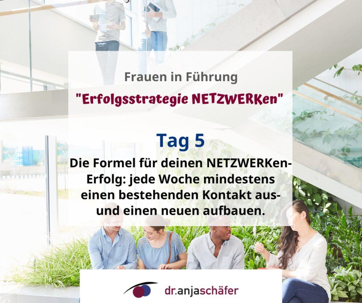 """Online-Training """"Erfolgsstrategie Netzwerken"""" 11.20- Tag 5"""